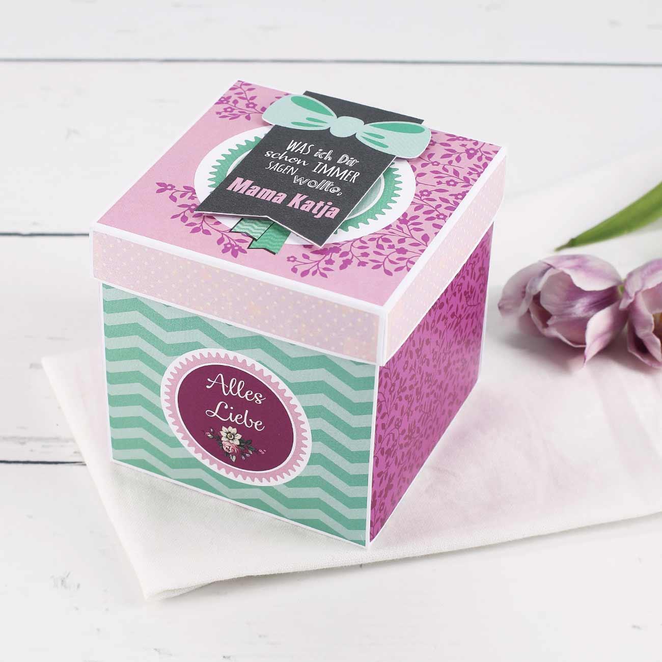 Geschenke Für Mama Basteln Schöne Vase Für Den Muttertag Basteln