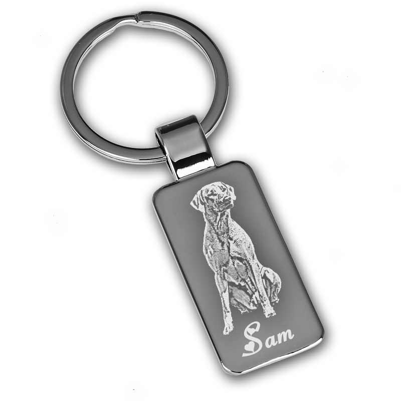 Schlüsselanhänger mit Gravur vom Haustier  GeschenkeMAXXcom