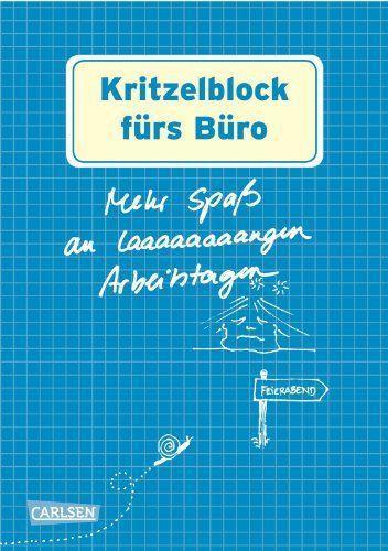 Kritzelblock frs Bro  Langeweile ade