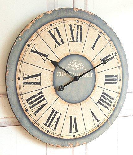 Shabby Chic Wanduhr  zauberhaft Uhr fr die Wohnung