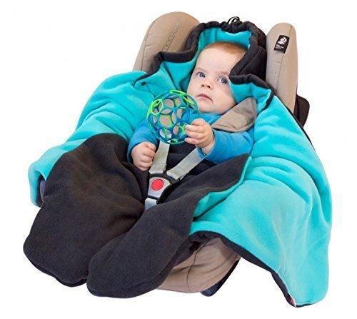 Baby Winter Einschlagdecke  Geschenkidee fr Babys