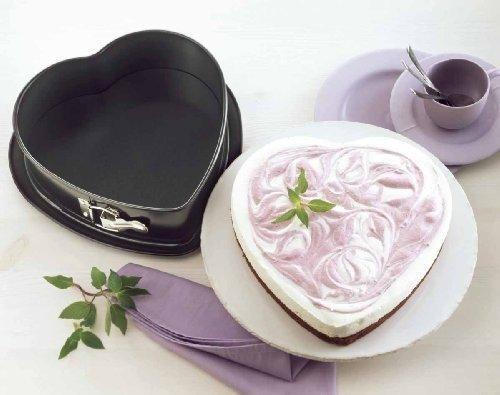 Kuchen Herzform von Kaisers Springform in Herzform