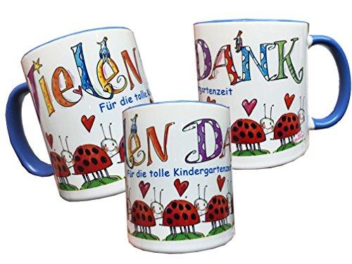 Tasse zum Kindergartenabschied  Dankeschn an liebe Erzieherinnen