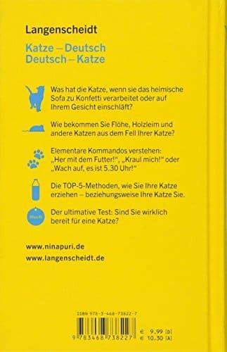 Wrterbuch DeutschKatze  Unterhaltsamer Ratgeber fr