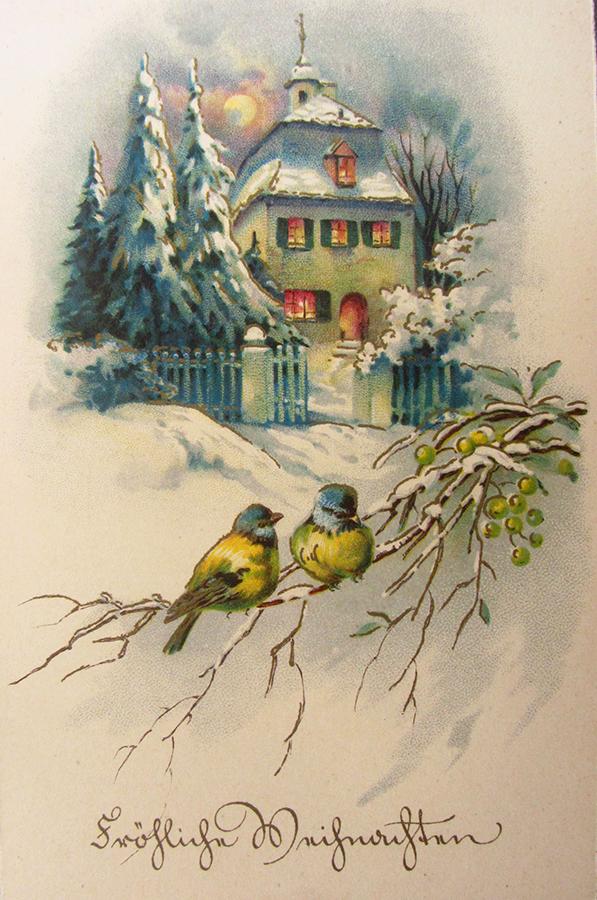 Nostalgische Weihnachten Geschenktistnochzuteuer