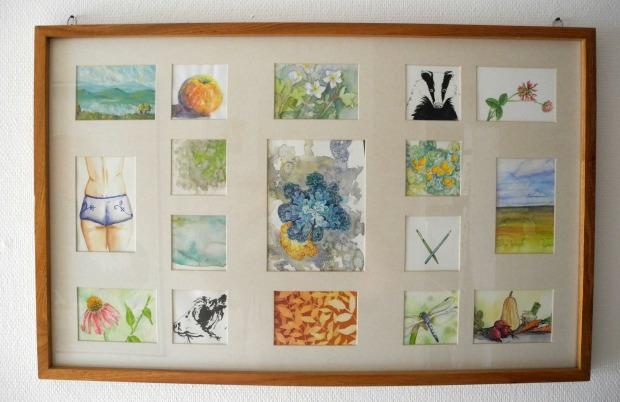 Resteverarbeitung – 5 Ideen was Du mit alten Bildern und Papierschnipseln machen kannst | Gesche Santen