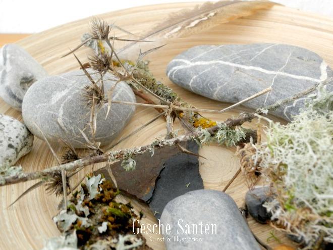 Gemalten Souvenirs - Erinnerungsstücke und Mitbringsel in Aquarell Gesche Santen Blog