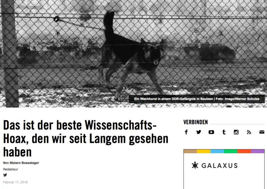 Artikel in vice, Quelle: http://www.vice.com/de/read/hatten-schferhunde-eine-mitschuld-an-der-nazi-und-sed-diktatur-556