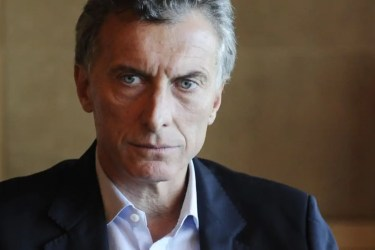 Mauricio Macri; Quelle: diarioprimicia.com.ar