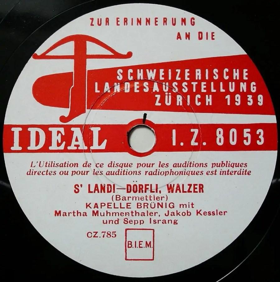 """""""Landi-Dörfli-Walzer"""", Quelle: grammaphon-platten.de"""
