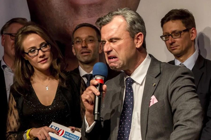 FPÖ-Kandidat Norbert Hofer, Quelle: vox.com