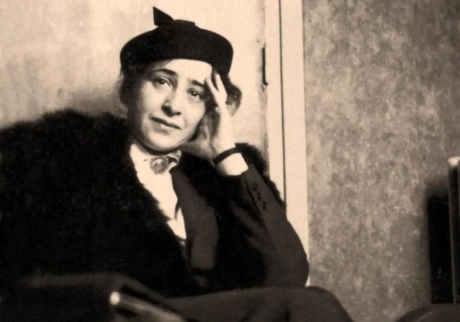 Hannah Arendt, ca. 1932; Quelle: denismateriaux.com