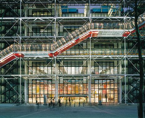 Centre Pompidou, Eingang; Quelle: rpbw.com