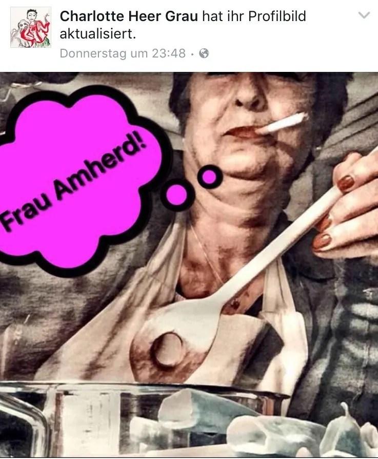Frau Amherd; Quelle: facebook.com
