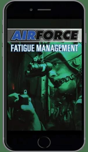 U.S. Air Force, fatigue management; Quelle: quickseries.com