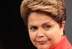 Präsidentin Dilma Rousseff; Quelle: telegraph.co.uk