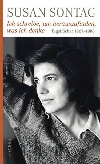 Susan Sontag, Tagebücher 1964–1980, Buchcover (www.hanser-literaturverlage.de)