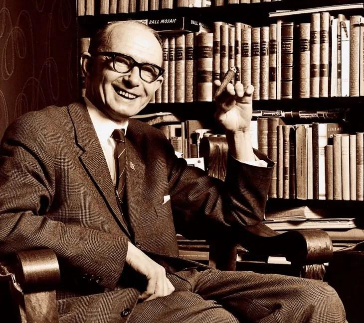 Damals Gastgeber der europäischen Rechten, heute fast niemanden mehr bekannt: Per Engdahl, der Organisator der Malmö Konferenz 1951; Quelle: polimasaren.se