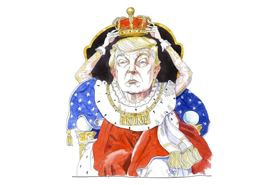 King Trump; Quelle: wsj.com