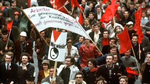 """1968, die Linke und die """"Arbeiterklasse"""""""