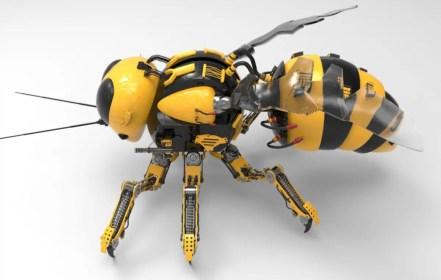 """Walmarts """"Gläserne Bienen"""". Über Drohnen-Schwärme und Künstliche Nicht-Intelligenz"""