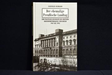 """Cover """"Der ehemallige Preußische Landtag 1947 - 1993"""""""