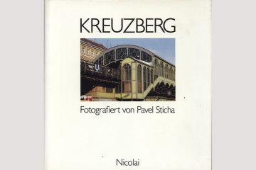 """Cover """"Kreuzberg"""", fotografiert von Pavel Sticha"""