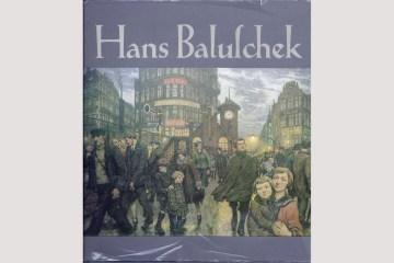 """Cover """"Hans Baluschek"""" von Günter Meißner, Dresden 1985"""