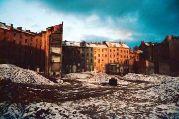 Flächensanierung an der Skalitzer Straße. Foto: Ulrich Horb