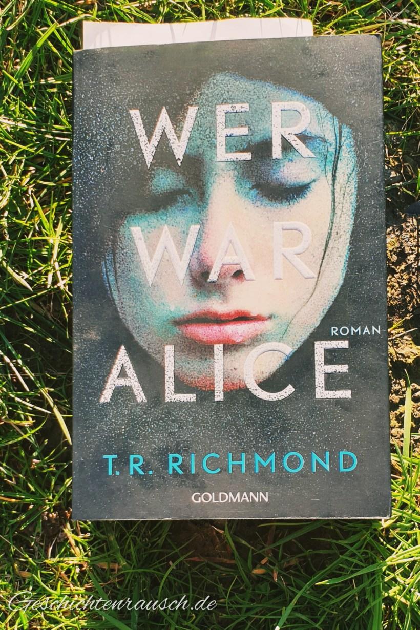 Wer war Alice Book Cover
