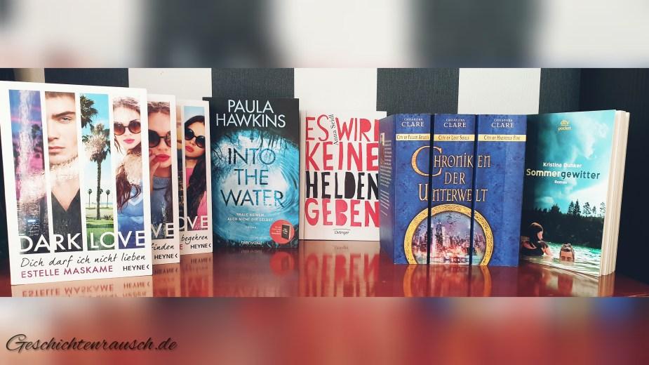Bücher des Juni-Rückblicks