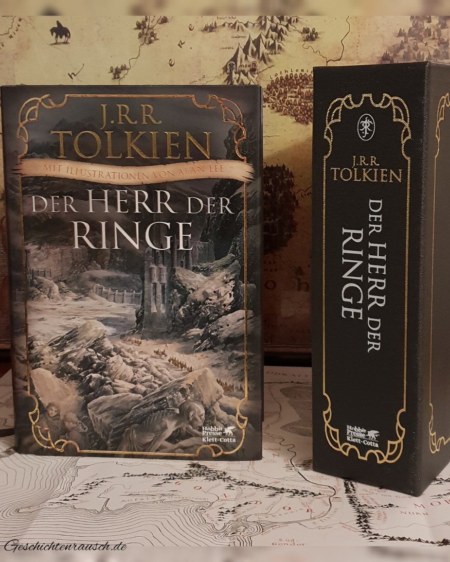 Der Herr der Ringe - Mit Illustrationen von Alan Lee Book Cover