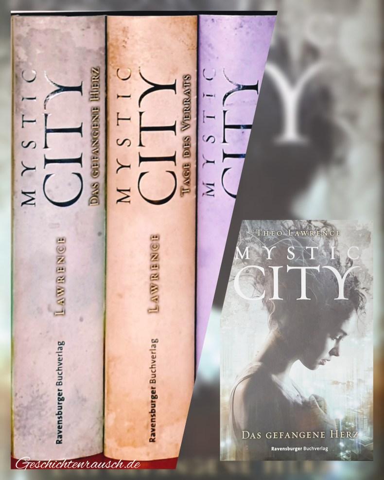 1) Das Gefangene Herz; 2) Tage des Verrats; 3) Schatten der Macht Book Cover