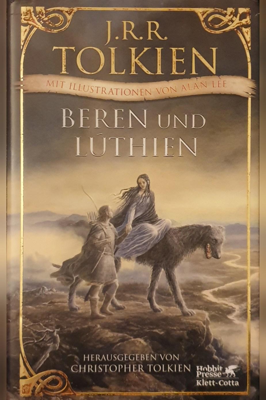 Beren und Lúthien Book Cover