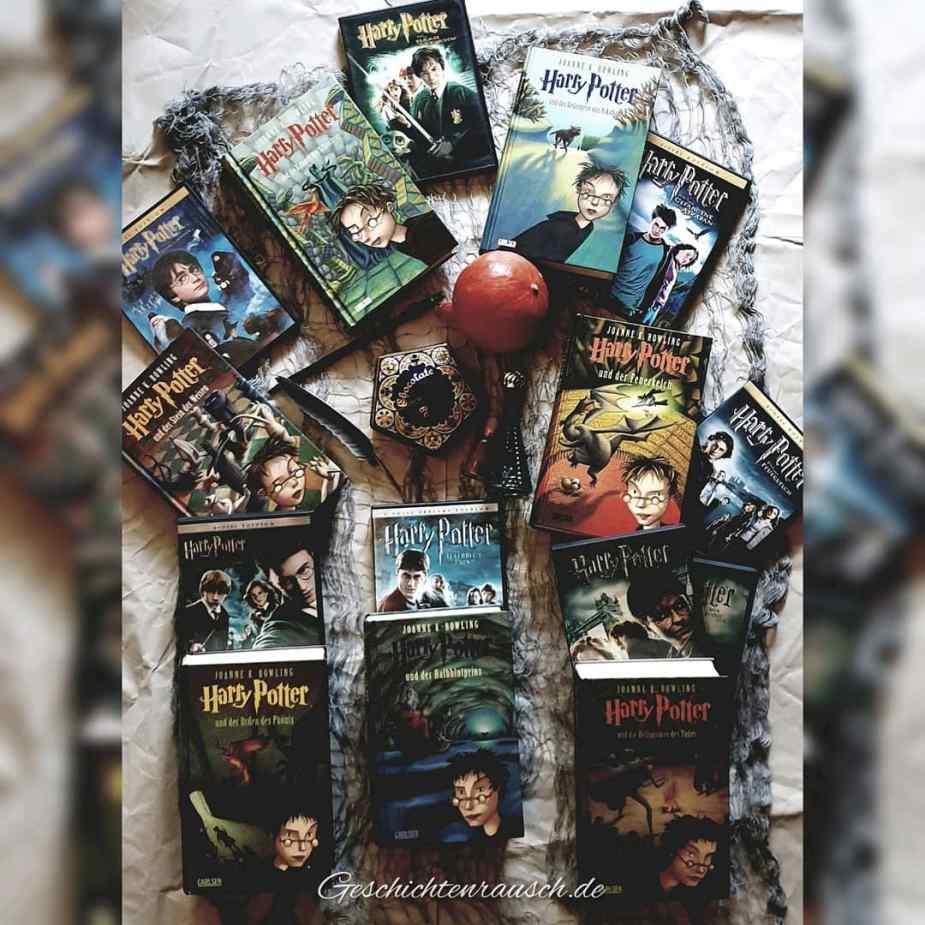 Harry Potter - Filme und Bücher.