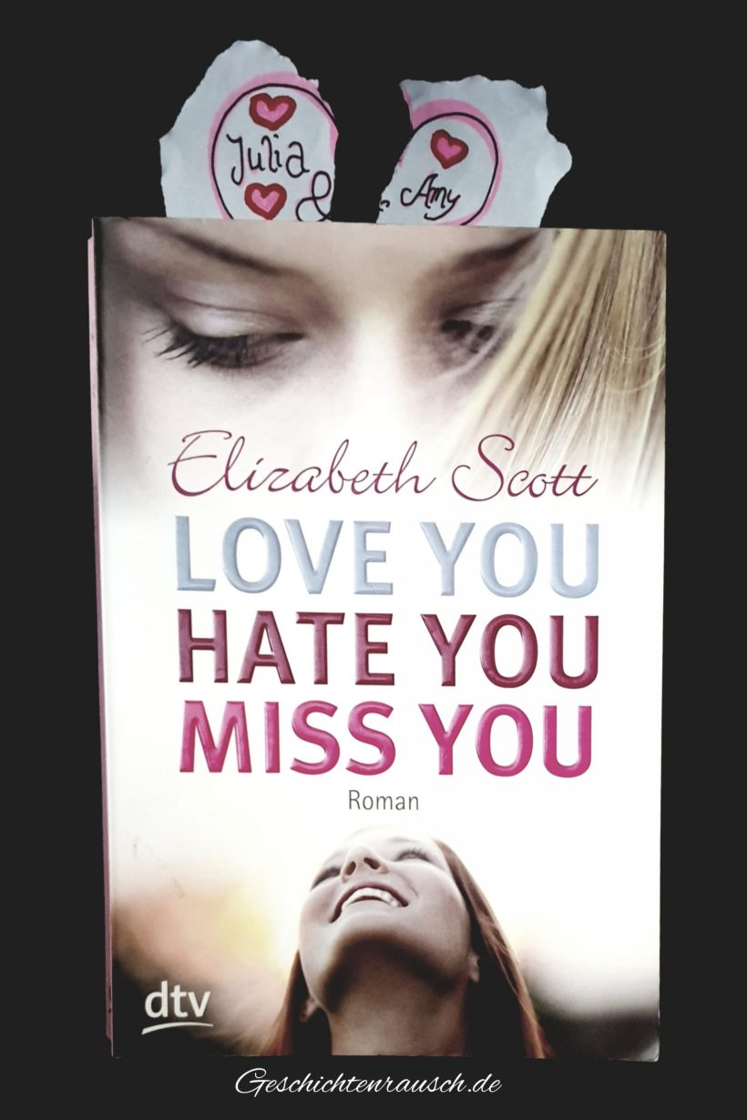 LOVE YOU HATE YOU MISS YOU Book Cover
