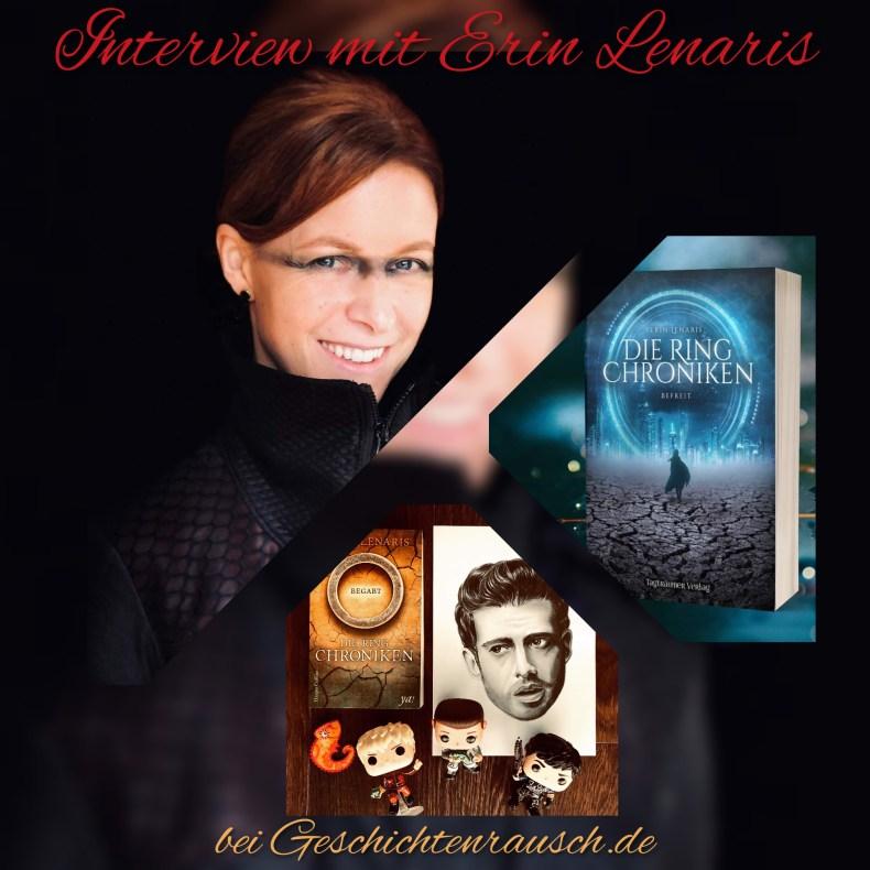 Autoreninterview Erin Lenaris