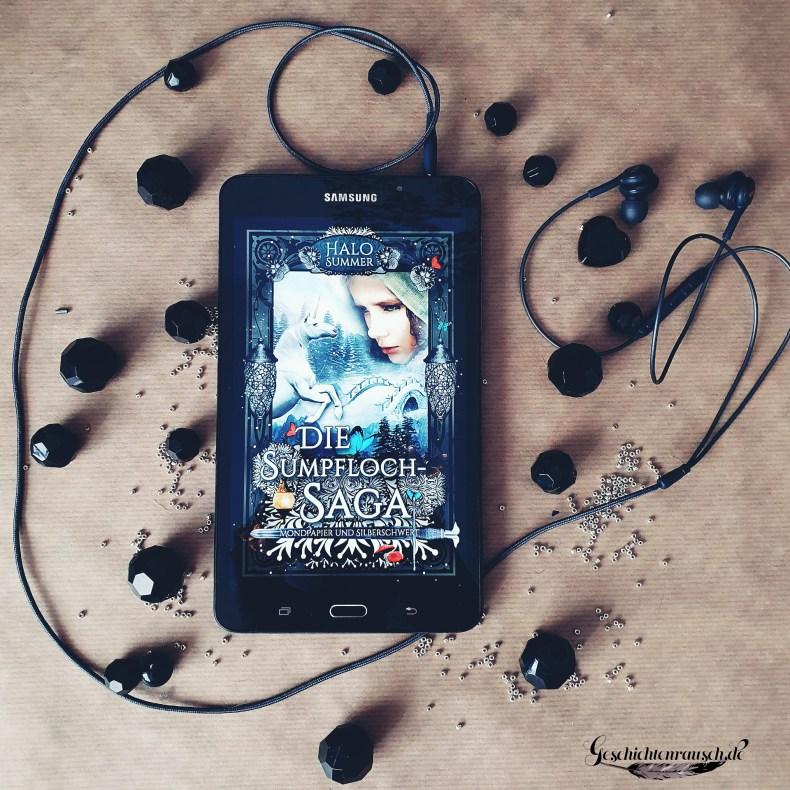 Die Sumpfloch-Saga - Mondpapier und Silberschwert - Cover