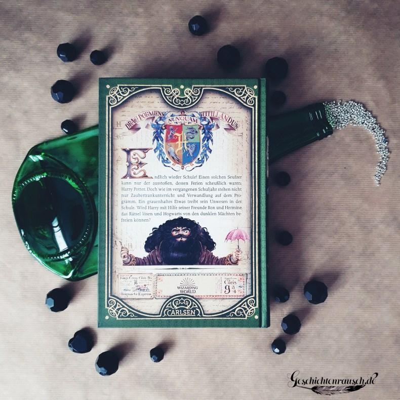 Klappentext von Harry Potter und die Kammer des Schreckens von J. K. Rowling