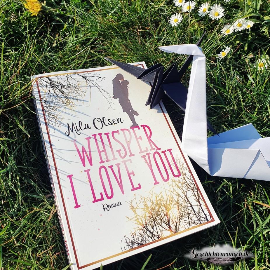 Cover von Whisper I Love You von Mila Olsen