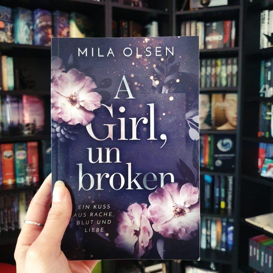 Cover - A girl, unbroken