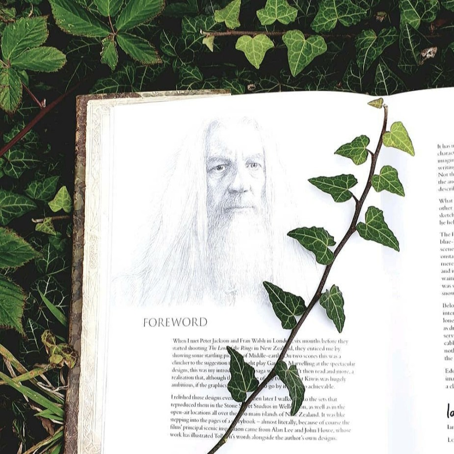 Blick ins Buch: The Lord of the Rings Sketchbook by Alan Lee