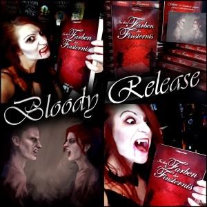 """Bloody Release: """"In den Farben der Finsternis: Blurot"""" von Steffi Frei"""