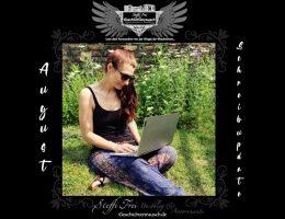 Schreibjahr 2021 von Steffi Frei: August-Update