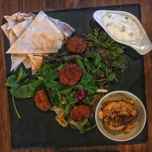 Hausgemachte Falafel im Upper West. Neues Restaurant in Leipzig Plagwitz