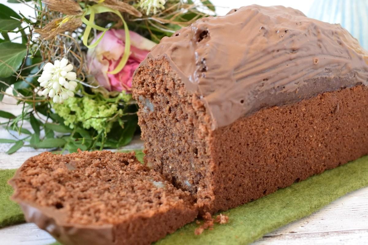Schoko-Zitrus-Kuchen mit Erdmandeln