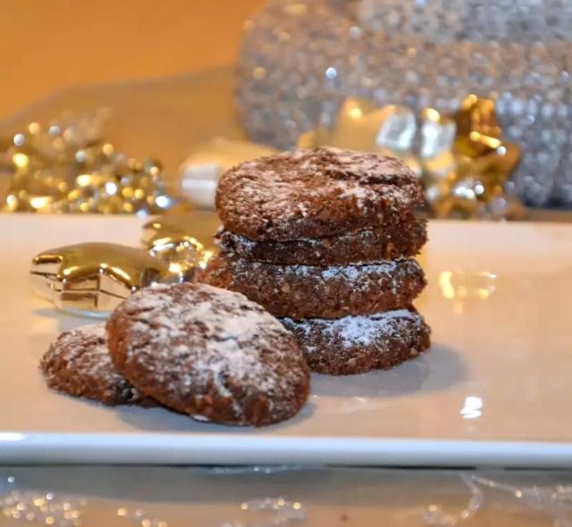 Schoko Mandel Kekse