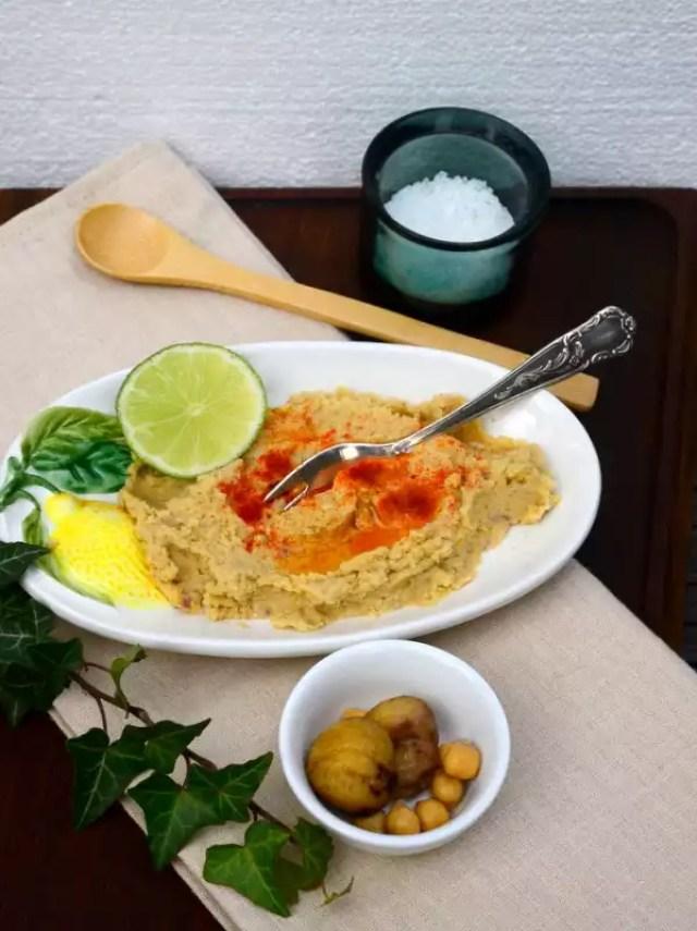 Hummus mit Maroni