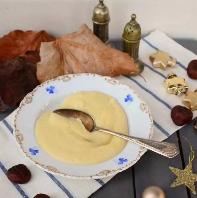 Pastinakensuppe mit Maroni