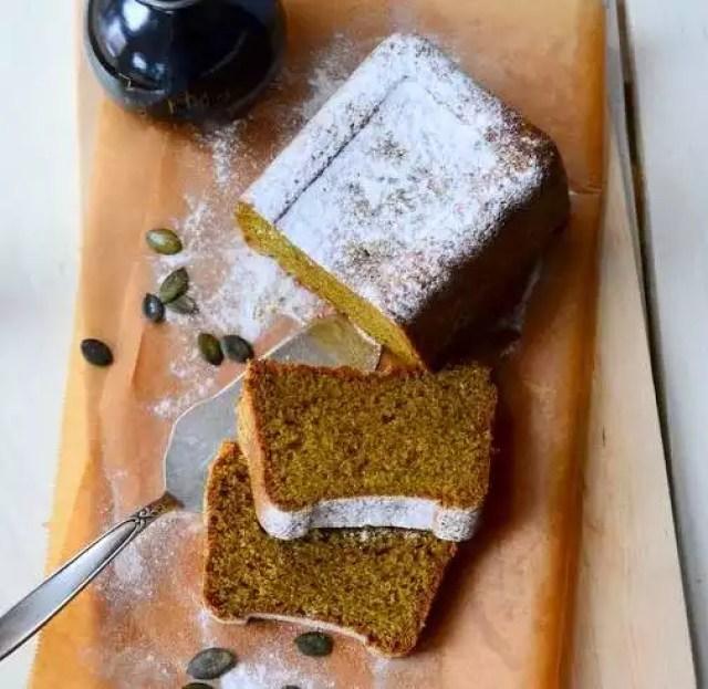 Kürbiskernöl-Kuchen